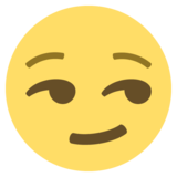 Smirking Face on EmojiOne 2.2.5