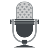 Studio Microphone on EmojiOne 2.2.5