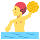 Person Playing Water Polo on EmojiOne 2.2.5