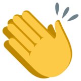 Clapping Hands on EmojiOne 3.0