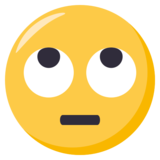 Face With Rolling Eyes on EmojiOne 3.0