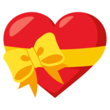 Heart With Ribbon on EmojiOne 3.0