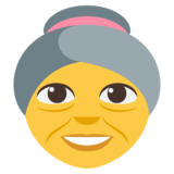 Old Woman on EmojiOne 3.0