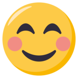 Smiling Face With Smiling Eyes on EmojiOne 3.0