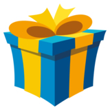 Wrapped Gift on EmojiOne 3.0