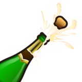 Bottle With Popping Cork on emojidex 1.0.33