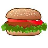 Hamburger on emojidex 1.0.33