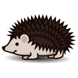 Hedgehog on emojidex 1.0.33