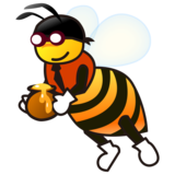 Honeybee on emojidex 1.0.33