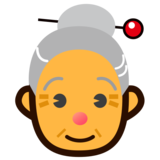 Old Woman on emojidex 1.0.33
