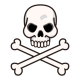 Skull and Crossbones on emojidex 1.0.33