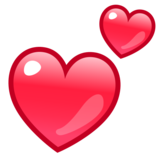 Two Hearts on emojidex 1.0.33