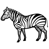 Zebra on emojidex 1.0.33