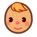 Baby: Medium Skin Tone on emojidex 1.0.34