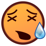 Tired Face on emojidex 1.0.34