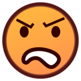Angry Face on emojidex 1.0.14