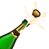 Bottle With Popping Cork on emojidex 1.0.14