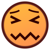 Confounded Face on emojidex 1.0.14