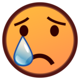 Crying Face on emojidex 1.0.14