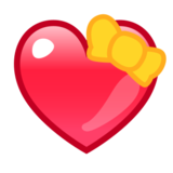 Heart With Ribbon on emojidex 1.0.14