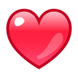 Red Heart on emojidex 1.0.14