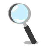 Left-Pointing Magnifying Glass on emojidex 1.0.14