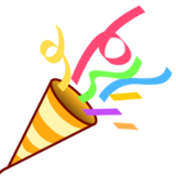 Party Popper on emojidex 1.0.14