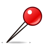 Round Pushpin on emojidex 1.0.14