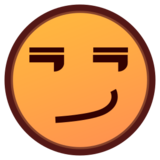 Smirking Face on emojidex 1.0.14
