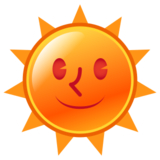 Sun With Face on emojidex 1.0.14