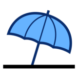 Umbrella on Ground on emojidex 1.0.14