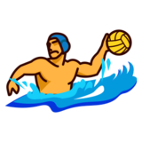 Person Playing Water Polo on emojidex 1.0.14