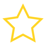 White Medium Star on emojidex 1.0.14