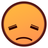 Disappointed Face on emojidex 1.0.22