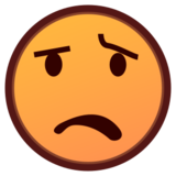 Anguished Face on emojidex 1.0.24