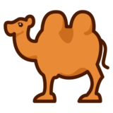 Two-Hump Camel on emojidex 1.0.24