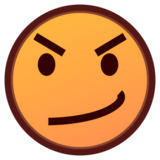 Face With Steam From Nose on emojidex 1.0.24