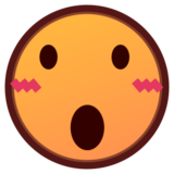 Face With Open Mouth on emojidex 1.0.24