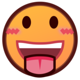 Face With Stuck-Out Tongue on emojidex 1.0.24