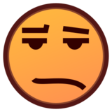 Frowning Face With Open Mouth on emojidex 1.0.24