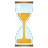 Hourglass With Flowing Sand on emojidex 1.0.24