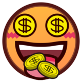 Money-Mouth Face on emojidex 1.0.24