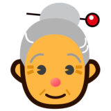 Old Woman on emojidex 1.0.24
