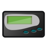 Pager on emojidex 1.0.24
