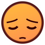 Pensive Face on emojidex 1.0.24
