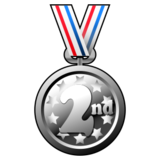 2nd Place Medal on emojidex 1.0.24