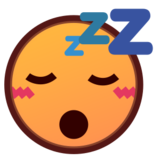 Sleeping Face on emojidex 1.0.24