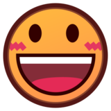 Smiling Face With Open Mouth on emojidex 1.0.24