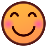 Smiling Face With Smiling Eyes on emojidex 1.0.24