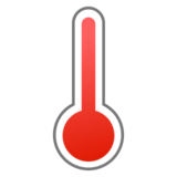 Thermometer on emojidex 1.0.24